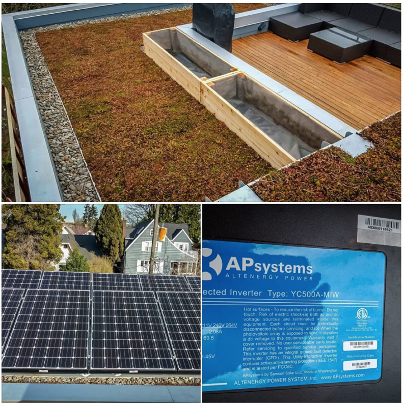 Green Power On A Green Roof Blue Frog Solar Making